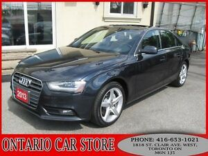2013 Audi A4 2.0T QUATTRO PREMIUM PLUS NAVIGATION BACK UP CAM