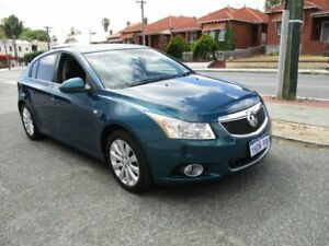 2012 Holden Cruze JH Series II MY12 CDX Blue 6 Speed Sports Automatic Hatchback West Perth Perth City Area Preview