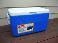Blue Coleman Cooler - Brand New, Never Used!!!