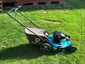 brand new yardworks selfpropelled lawn mower used 2x 24 inch cut