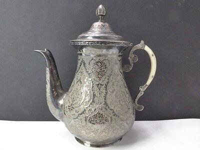 Teekanne Tee Kanne 800 SILBER Silver persische Handwerkskunst persian handmande