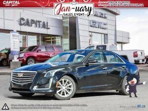 2017 Cadillac CTS Sedan RWD REMOTE START HEATED SEATS REAR PARK