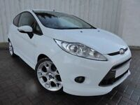 Ford Fiesta 1.6 Zetec S, Amazing in Arctic White, Stunning Low Mileage with Main Dealer S History