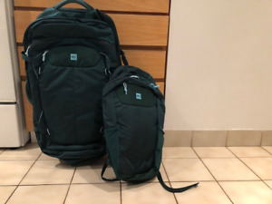 MEC 65L backpack and daypack combo