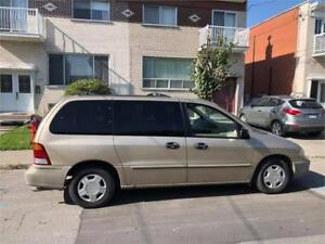 2001  FORD WINDSTAR- automatic- 7 PLACES- MEC A1-  1000$  **