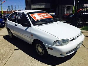 1999 Ford Festiva WF Trio S 5 Speed Manual Hatchback Brooklyn Brimbank Area Preview