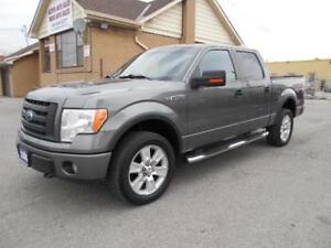 2009 FORD F-150 FX4 Crew Cab 4X4 5.4L Loaded Leather Certified
