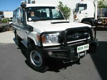 2011 Toyota Landcruiser VDJ78R MY10 GXL Troopcarrier White 5 Speed Manual Wagon Varsity Lakes Gold Coast South Preview