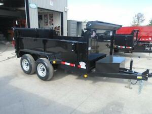 COMBO GATE HYDRAULIC DUMP TRAILER 6X10 5 TON -GET YOURS TODAY London Ontario image 5