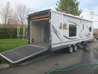 roulotte toy hauler cargo 26 pieds Wildthing