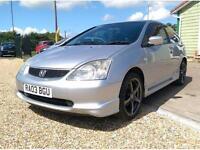 Honda Civic Sport (aluminium/silver) 2003