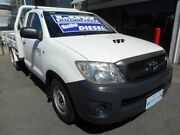 2010 Toyota Hilux KUN16R MY10 SR White 5 Speed Manual Cab Chassis Edwardstown Marion Area Preview