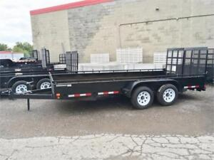 Tandem Axle Landscape Trailers - Commercial Grade!