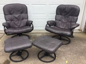 Reclining Leatherette Chairs