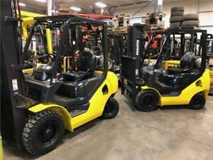 Grossiste chariots élévateurs usagés Wholesale used forklifts