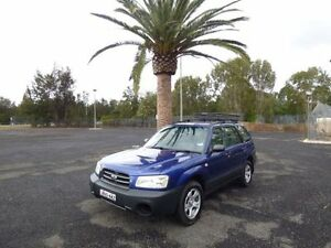 2002 Subaru Forester 79V MY02 GX Blue 4 Speed Automatic Wagon Cabramatta Fairfield Area Preview
