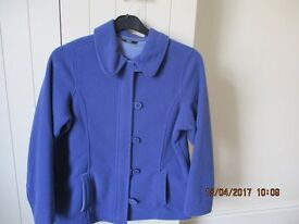 LADIES MARKS & SPENCER FLEECE JACKET