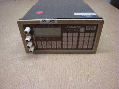 Omega Cl-505a Precision Calibrator Thermocouple Rtd Ma Mv Ohm Free Shipping