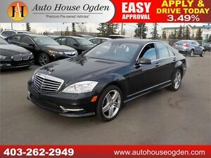 2013 MERCEDES S550 4MATIC NIGHT VISION 2DVD TV AMG PACKAGE