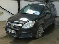 Vauxhall zafira life 1.9diesel spares or repair