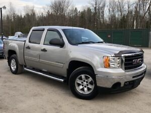 2009 GMC Sierra 1500 Accident-Free SLE 4X4 Crew Cab Leather