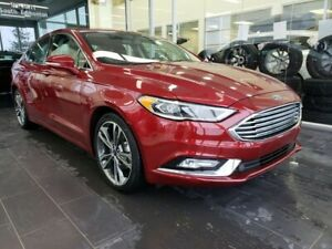 2017 Ford Fusion TITANIUM, HEATED/COOLED SEATS, NAVI, SUNROOF