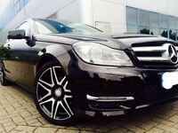 62 Reg Mercedes C Class 2.1 C220 CDI BlueEFFICIENCY AMG Sport Plus (Low Mileage)