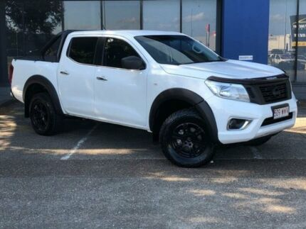 2016 Nissan Navara D23 Series II RX (4x4) White 7 Speed Automatic Double Cab Utility Eagle Farm Brisbane North East Preview