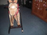 Kids rocking horse,