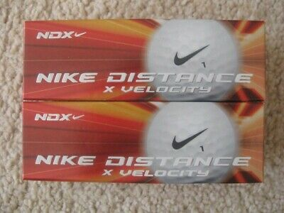 Nike NDX Golf Balls (6) Two boxes of three - NEW and boxed