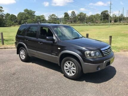 2006 Ford Escape ZB XLS Black 4 Speed 4 SP AUTOMATIC Wagon West Gosford Gosford Area Preview
