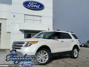 2015 Ford Explorer XLT *4WD* *Leather* *Clean*