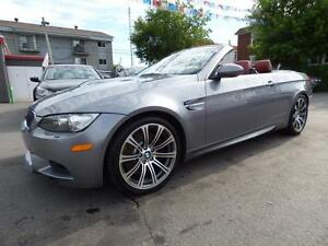 2009 BMW M3 CABRIOLET (AUTOMATIQUE, V8-414HP,  CUIR, NAVI, FULL)