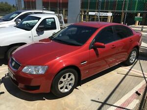 2011 Holden Commodore VE II Omega Red 4 Speed Automatic Sedan Edgewater Joondalup Area Preview