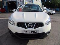 Nissan Qashqai+2 ACENTA PLUS 2 DCI 5d 110 BHP nice spec ! (white) 2011