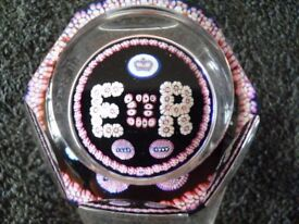 Limited edition (652 of 1000) Whitefriars paperweight