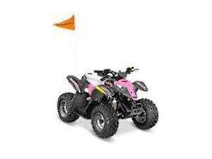 POLARIS OUTLAW 50 ROSE PUISSANT 2017