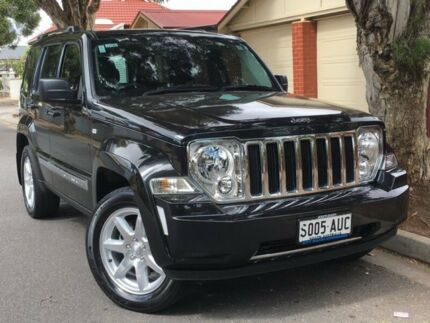 2012 Jeep Cherokee KK MY12 Limited Black 4 Speed Automatic Wagon West Hindmarsh Charles Sturt Area Preview