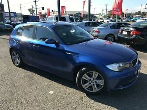 2008 BMW 118i E87 MY07 Upgrade Blue 6 Speed Automatic Hatchback Lansvale Liverpool Area Preview