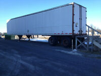 Storage trailer for Sale 45ft side and back door