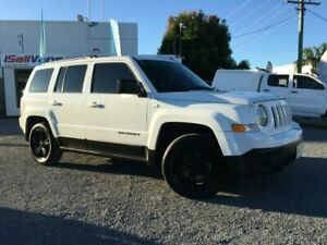 2015 Jeep Patriot MK MY15 Sport (4x2) White 6 Speed Automatic Wagon Currumbin Waters Gold Coast South Preview