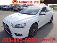 2008 Mitsubishi Lancer Evolution MR AUTO 291HP $23988