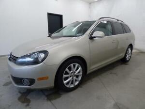 2012 VOLKSWAGEN GOLF WAGON TDI DSG COMFORTLINE (AIR+MAGS+FULL!)