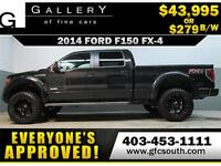 2014 FORD F-150 FX4 LIFTED  *EVERYONE APPROVED* $0 DOWN $279/BW