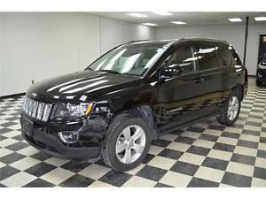 2016 Jeep Compass HIGH ALTITUDE 4X4 - LOW KMS**HEATED LEATHER...