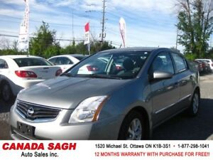 2012 Nissan Sentra LOADED/ROOF/PWR, 12M.WRTY+SAFETY $7890