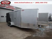 2018 7X22 ALL ALUMINUM SPORT NEO ENCLOSED TRAILER, GREAT PRICE! London Ontario Preview