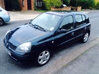 RENAULT CLIO 1.5 DIESEL 2004, MOT FEB, ONLY 77k, £30 PER YEAR ROAD TAX,TIMING BELT DONE.