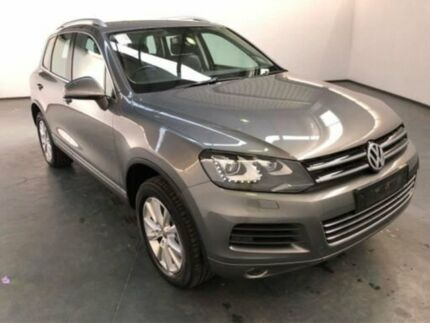 2013 Volkswagen Touareg 7P MY13 150 TDI Grey 8 Speed Automatic Wagon Albion Brimbank Area Preview