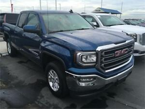 NEW DEMO 2017 GMC Sierra 1500 SLE blue 4x4 double cab